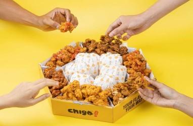Chigo, Ayam Goreng dengan 7 Varian Saus dan 5 Varian Sambal di Kopi Kenangan