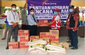 Bank Jateng Salurkan Bantuan untuk Korban Bajir di Pemalang