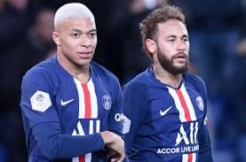 PSG Ingin Pertahankan Duet Neymar-Mbappe Musim Depan