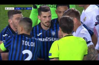 Media Olahraga Italia Kritik Habis Wasit yang Memimpin Laga Atalanta vs Madrid