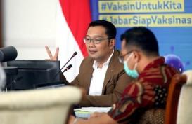 Ridwan Kamil Lantik Lima Kepala Daerah di Gedung Merdeka Besok