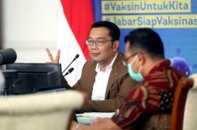 Ridwan Kamil Lantik Lima Kepala Daerah di Gedung Merdeka…