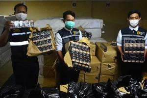 Bea Cukai Kudus, Jawa Tengah Berhasil Amankan Rokok Ilegal Sebnyak 1,2 Juta Batang
