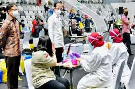 Hore! Vaksinasi Dosis Pertama Hampir Capai Target