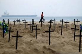 Kasus Kematian Akibat Covid-19 di Brasil Tembus 250.000…