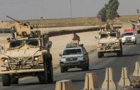 Pasukan AS Serang Kubu Milisi Suriah Dukungan Iran