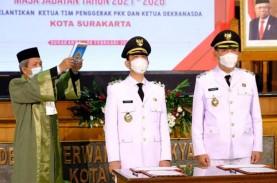 Sah! Putra Sulung Jokowi Gibran Resmi Jabat Wali Kota…