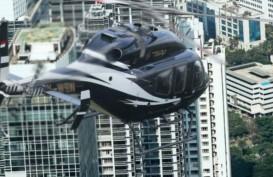 Mau ke Bandara Soetta Tanpa Macet? Yuk Coba Taksi Terbang