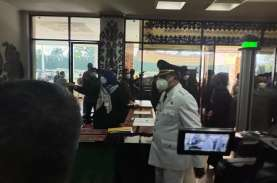 Terapkan Prokes Ketat, Gubernur Lampung Lantik 7 Kepala…