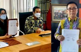 Sinergi BUMN & BUMD, Angkasa Pura Support Tandatangani MoU dengan Bank Kalsel