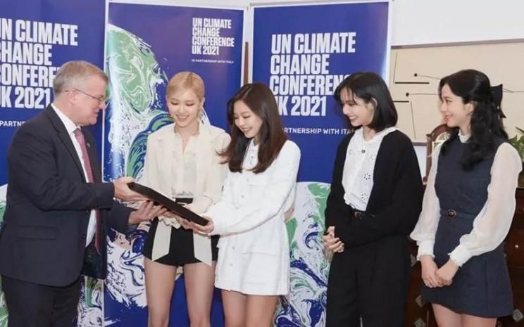 Blackpink jadi Advokat Resmi Konferensi Perubahan Iklim PBB