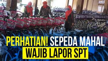 Sepeda Mahal Masuk Daftar Laporan SPT Tahunan