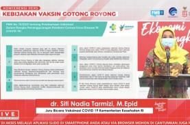 Vaksinasi Gotong Royong, Kemenkes: Percepat Kekebalan…