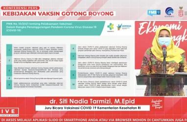 Vaksinasi Gotong Royong, Kemenkes: Percepat Kekebalan Komunitas