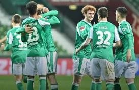 Werder Bremen Hentikan 5 Kemenangan Beruntun Frankfurt di Bundesliga