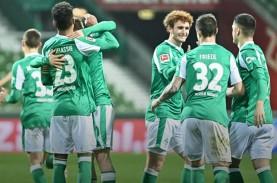 Werder Bremen Hentikan 5 Kemenangan Beruntun Frankfurt…
