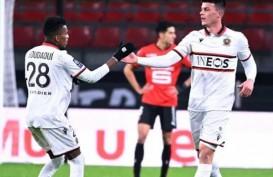 Hasil Liga Prancis, Nice Tundukkan Rennais, Skor Tipis 2–1