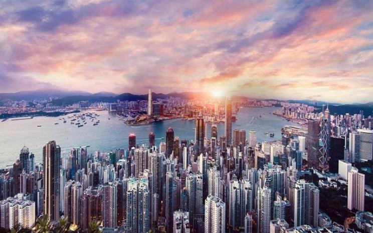 Gedung di Hong Kong