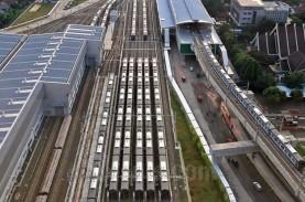 Pembangunan MRT Fase 2A, Ini Progres Stasiun Monas…