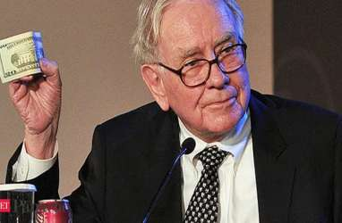 Perusahaan Warren Buffet Buyback Saham Setara Rp352 Triliun