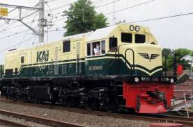 KAI Hadirkan Livery Lokomotif Kereta Era 1953–1991