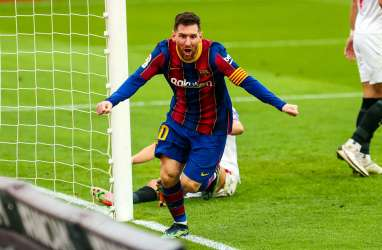 19 Gol, Lionel Messi Makin Mantap Top Skor La Liga