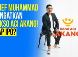 Arief Muhammad Mencebur Bisnis Baso Aci