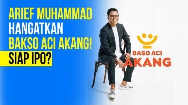 Arief Muhammad Mencebur Bisnis Bakso Aci