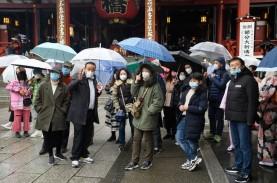 Status Darurat Dicabut, Jumlah Pejalan Kaki di Jepang…