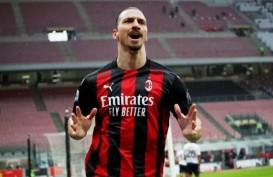 Kabar Buruk Buat AC Milan, Ibra Absen Lawan MU