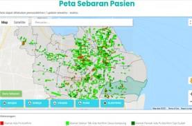 Kasus Covid-19 di Surabaya Kembali Tertinggi di Jawa…