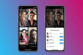 Asik, Instagram Live Rooms Kini Bisa Tampilkan 4 Pengguna…