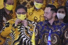Airlangga & Surya Paloh Bahas Konvensi Capres, Golkar…