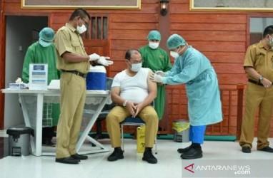 Pemprov Sumsel Targetkan Vaksinasi di Atas 80 Persen