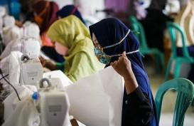 Pupuk Kaltim Berdayakan Mitra Binaan Produksi Masker dan APD