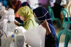 Pupuk Kaltim Berdayakan Mitra Binaan Produksi Masker…