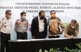 Pemkab Bandung Bersama 3 Daerah di Bandung Raya Teken MoU Pengembangan BRT