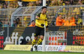 Gol Jadon Malik Sancho Bawa Dortmund Lolos ke Semifinal Piala Jerman