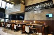 Naik Tinggi, Bursa Suspensi Saham Bank Ganesha (BGTG)