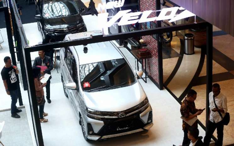 Toyota Avanza Veloz.  - BISNIS.COM