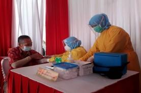 Vaksinasi di Sumsel Berlanjut untuk Pedagang Pasar