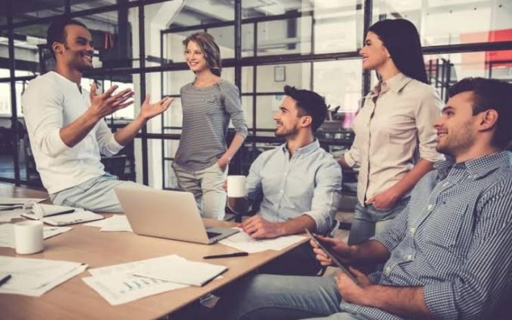 Ilustrasi Entrepreneur. Di dalam LPIK ITB ini sudah berjalan program inkubasi dengan beberapa tahapan, seperti pra-inkubasi, inkubasi, hingga graduation.  - ilustrasi