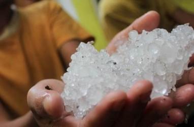 Cuaca Ekstrem Yogyakarta, Hujan Lebat Bahkan Disertai Butiran Es