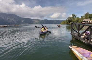 Letupan Belerang di Danau Batur, 11.950 Kg Ikan Mati Mendadak