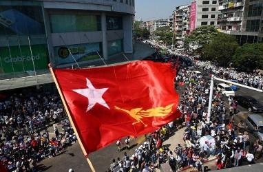 Demo Anti-Kudeta Myanmar Kembali Memakan Korban, 9 Orang Tewas