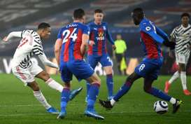Hasil Liga Inggris : MU 0–0 vs Palace, Makin Sulit Saingi ManCity