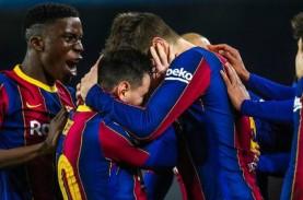 Menang Dramatis vs Sevilla, Barcelona Lolos ke Final…