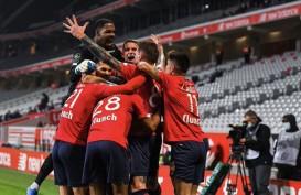 Hasil Lengkap Liga Prancis : Lille, PSG, Lyon Kembali Raup Poin Penuh