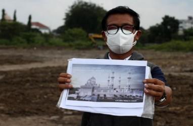 Masjid Senilai Rp5,7 Triliun Hadiah Putra Mahkota UEA untuk Jokowi Dibangun di Solo