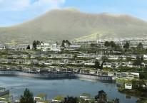 Konsep pemukiman Trump Residences di Lido yang dibangun bersama PT MNC Land Tbk. (KPIG)./Dok. laman Trumpresidencesindonesia